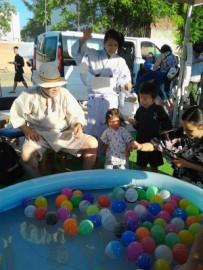 Juego de globos