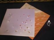 Fukusa variados, seda, confección actual. Cortesía de www.teramachi.or.jp