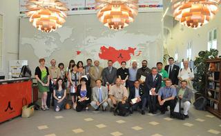 Reunión de Estudios Asiáticos, Casa Asia Barcelona, junio de 2015 (Foto: Casa Asia)