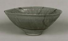 Chawan Shino gris. Kioto. Siglo XV. Kioto National Museum