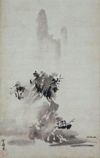 Haboku Sansui. Tôyô Sesshû. Siglo XV. Myōshin-ji (Kioto). Museo Nacional de Tokio