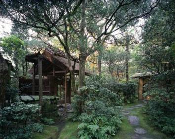 Roji de casa de té. Escuela Omotesenke (Kioto)
