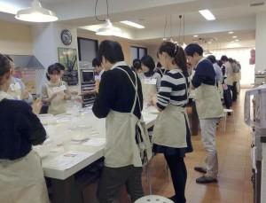 Alumnos del Konkatsu Eiwa en Nara. (Foto: The Yomiuri Shimbun)