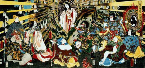 La diosa Amaterasu, adorada por los japoneses. (Fuente: Wikimedia Commons