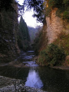 Barranco de Yôrô. (Foto: Wikimedia Commons)