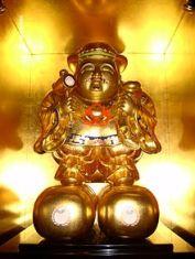 Daikoku de oro. (Foto: Wikimedia Commons)