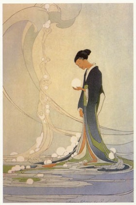 """Spirit of the sea"". Bertha Lum (1916)"