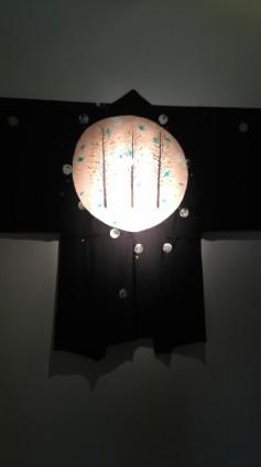 "Una de las piezas de ""Kimono Joya"", de Alfonso Albacete"