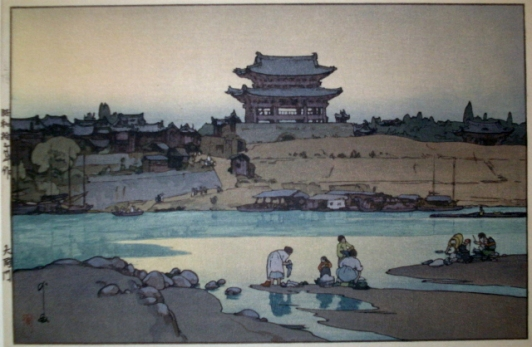 Puerta Daido. Yoshida Hiroshi (1937)