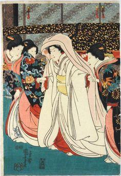 La novia_Utagawa Kuniyoshi