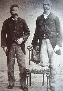 La relación entre los industriales japoneses y occidentales fue muy fructífera durante la era Meiji. (Foto: Thomas Glover e Iwasaki Yanosuke en 1900. Wikimedia Commons)