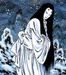 Yuki Onna. Ilustración de Quique Alcatena