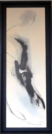 """""""Sin título"""", 2015, nº 4. Acrílico sobre lienzo"""