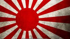 Bandera imperial japonesa, previa a la Constitución japonesa actual (https://commons.wikimedia.org)