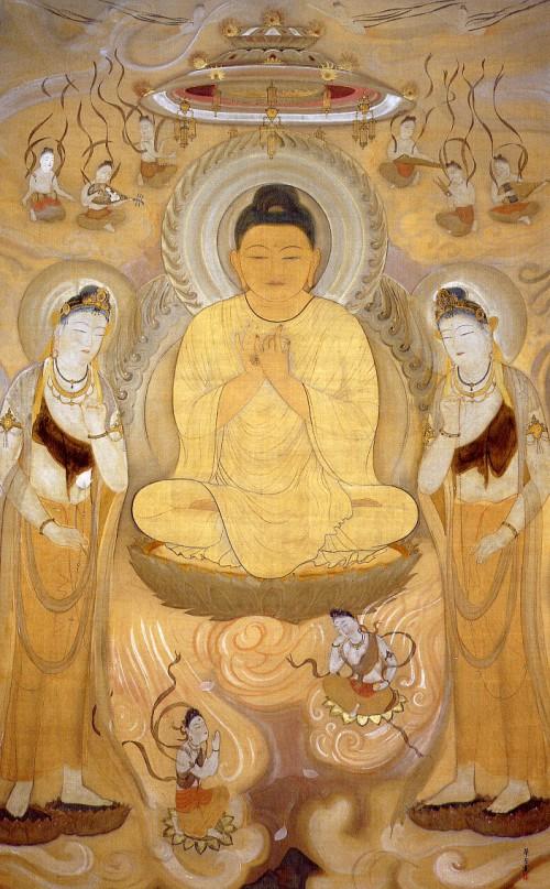 Murakami Gagaku, Amida. 1916