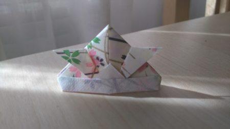 Kabuto de Origami