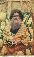 Patriarca ainu (www.oldphotosofjapan.com)
