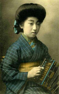Historia de la belleza femenina de jap n una imagen una for Erotismo d epoca