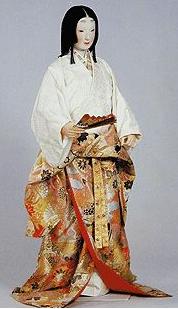 Mujer de clase alta de la época Momoyama. (Fuente: www.reconstructinghistory.com)