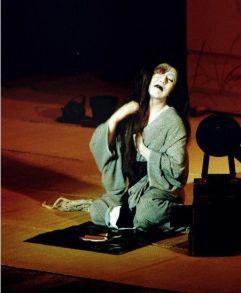 Onryô (fantasma femenino) en el teatro Kabuki. (Foto: Wikimedia Commons)