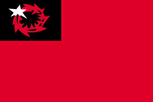 Liga de Liberación Buraku (bandera)