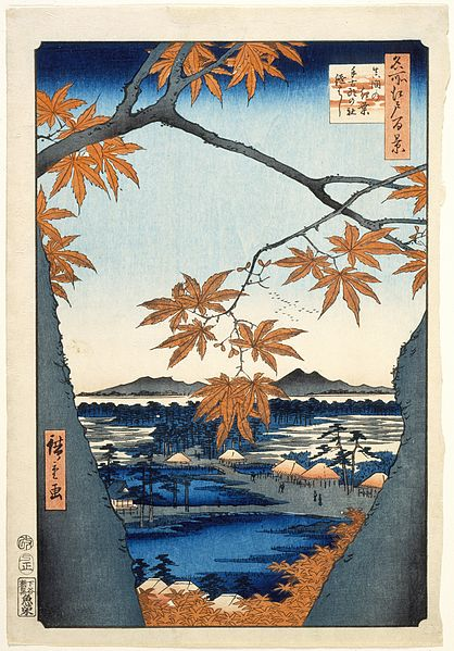 418px-Maple_Trees_at_Mama,_Tekona_Shrine_and_Linked_Bridge_LACMA_M.66.35.14