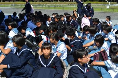 Escolares en Hiroshima © Asami D. Hagiwara