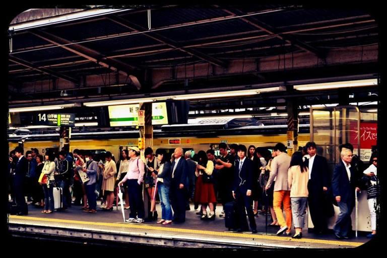 Estación en Tokio
